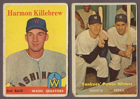 Cards graded Fair and Poor are in the worst shape possible.  These cards are generally undesirable unless they are Pre-War cards that are rare in any condition.