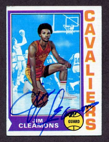 We buy and sell 1980s autographed basketball cards.