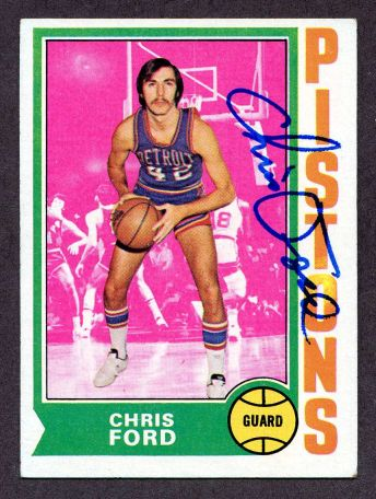 We buy and sell 1970s autographed basketball cards.