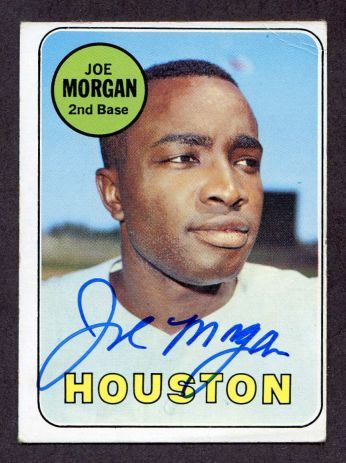 We buy and sell 1960s autographed baseball cards.