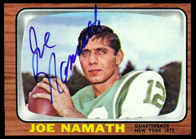 We buy and sell 1960s autographed football cards.r