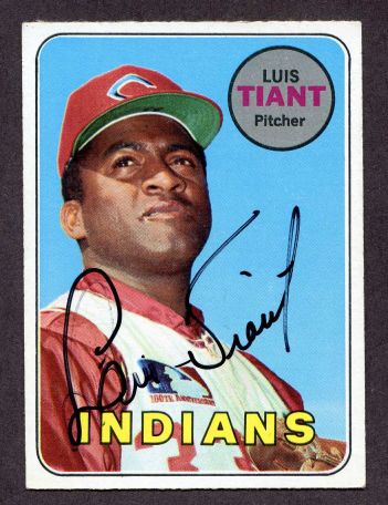 We buy and sell 1970s autographed baseball cards.