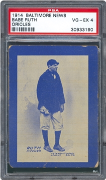 1914 Baltimore News Baseball Cards