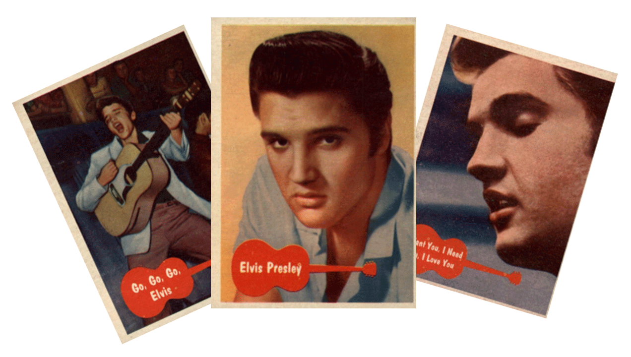 1956 Topps / Bubbles Inc Elvis Presley