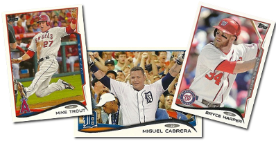 2014 Topps, Opening Day, and Heritage Now Online!