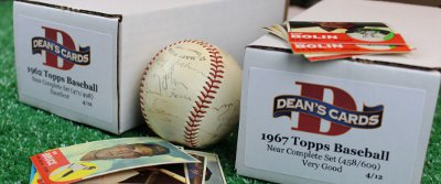 Near Complete Sets To Get You Started - Low Prices, All Vintage Topps Years in Stock