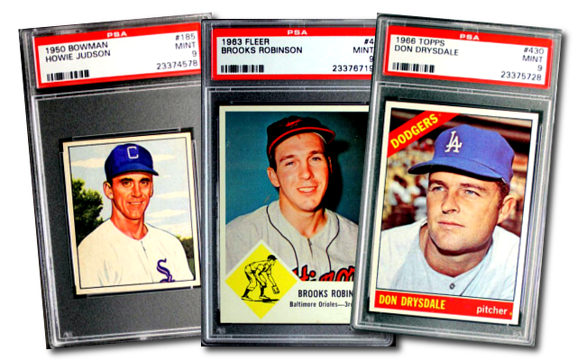 Mint Condition - High Grade Vintage Sports Cards