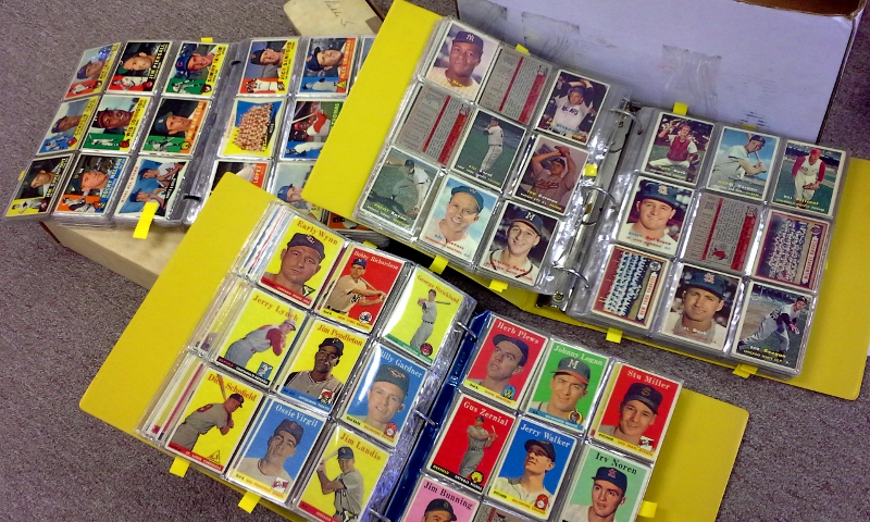 Vintage baseball cards generally hold their value, but this is not a safe bet and not always the case.