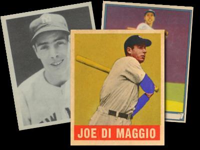 Joe Dimaggio Baseball Cards