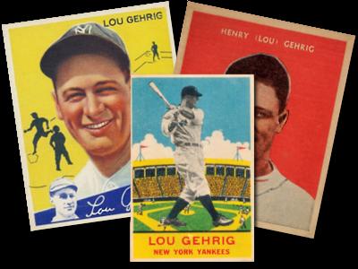 Lou Gehrig 1932 US Caramel #26 New York Yankees REPRINT