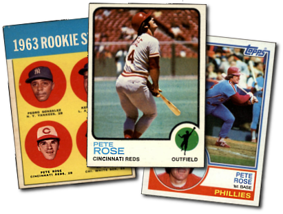 Buy Pete Rose Baseball Cards At Deans Cards