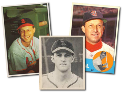Stan Musial Baseball Cards