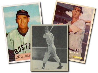 Ted Williams Baseball Cards