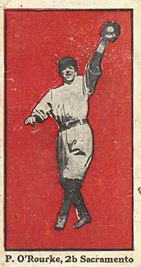 1911 E100 Bishop & Co. PCL Baseball Cards