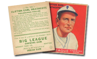 1933 Goudey Baseball Cards (R319)