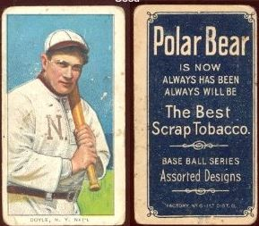 1909-11 T206 Polar Bear Back Baseball Cards