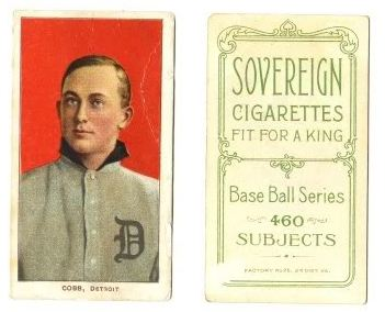 1909-11 T206 Sovereign Back Baseball Cards