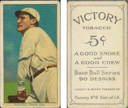 1915 T214 Victory Tobacco Baseball Cards