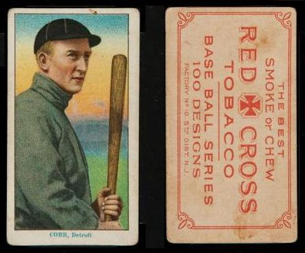 1910-13 T215 Red Cross Tobacco Baseball Cards