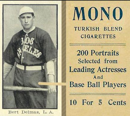 1910-11 T217 Mono Cigarettes Baseball Cards