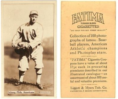 1914 T222 Fatima Player Baseball Cards