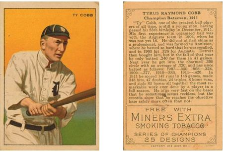 1912 T227 Series of Champions Cards