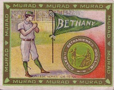 1909-10 T51 Murad College Series Baseball Cards