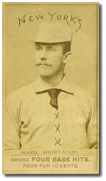 1887 Four Base Hits Baseball Cards