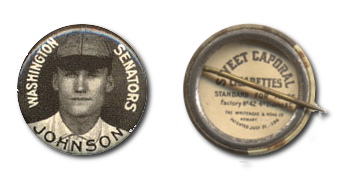 1910 Sweet Caporal Pins (P2) Baseball Cards