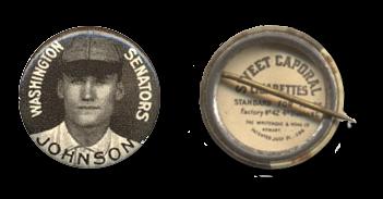 1910 Sweet Caporal Pins (P2) Baseball Cards