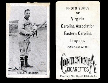 1910 T209-2 Contentnea Black & White Baseball Cards