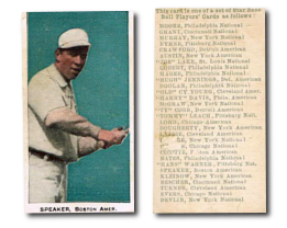 1911 E94 Close Candy Baseball Cards
