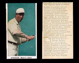 1911 E94 Close Candy Baseball Cards