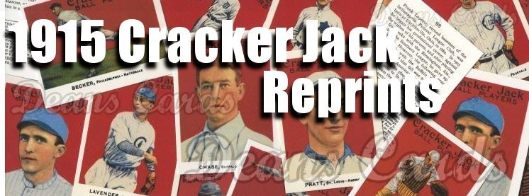 1915 Cracker Jack Reprint