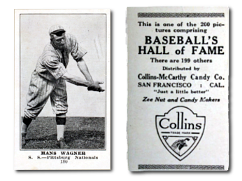 1917 E135 Collins-McCarthy Baseball Cards