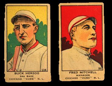 1919-21 W514 Baseball Cards