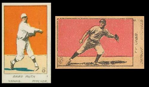 1920 W516-1 Baseball Cards
