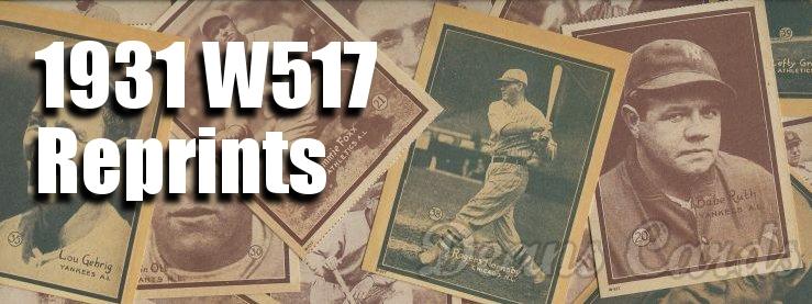 1931 W517 Reprints