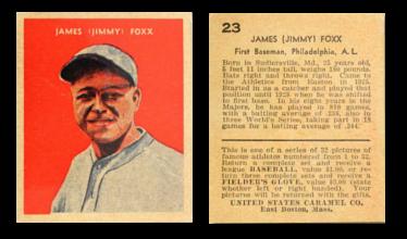 1932 U.S. Caramel (R328) Baseball Cards