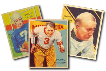 1935 National Chicle Football Cards