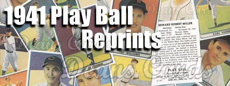1941 Play Ball Reprints