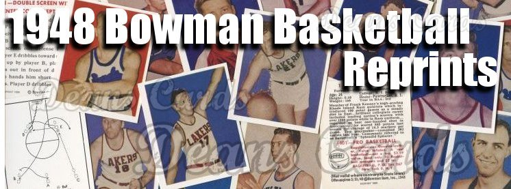 1948 Bowman Basketball Reprints