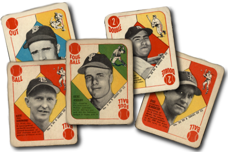 1951 Topps Blue Back Baseball Cards