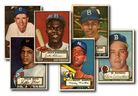 Buy 1952 Topps Reprint Baseball Cards From Deans Cards