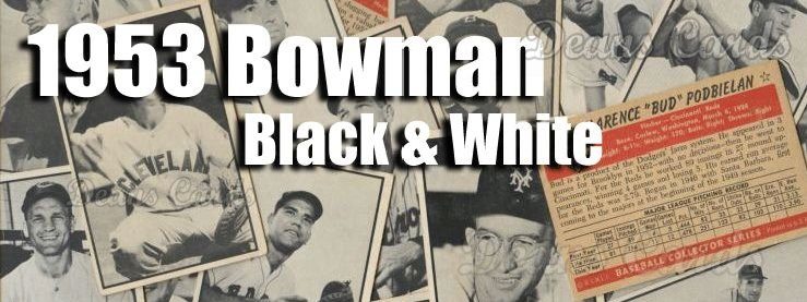 1953 Bowman B&W Baseball Cards