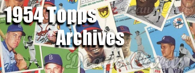 1954 Topps Archives - Reprints