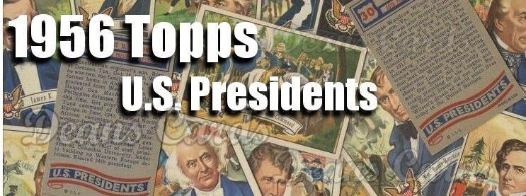1956 Topps U.S. Presidents