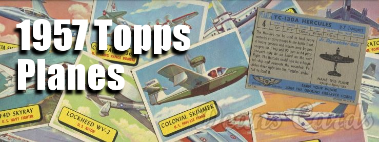 1957 Topps Planes