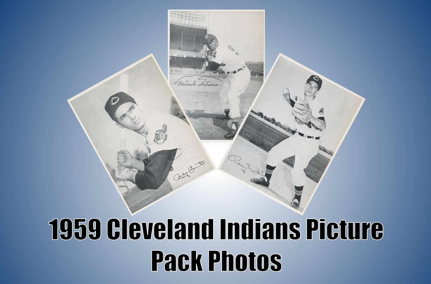 1959 Cleveland Indians Picture Pack Photos