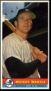 1959 Bazooka Baseball Cards